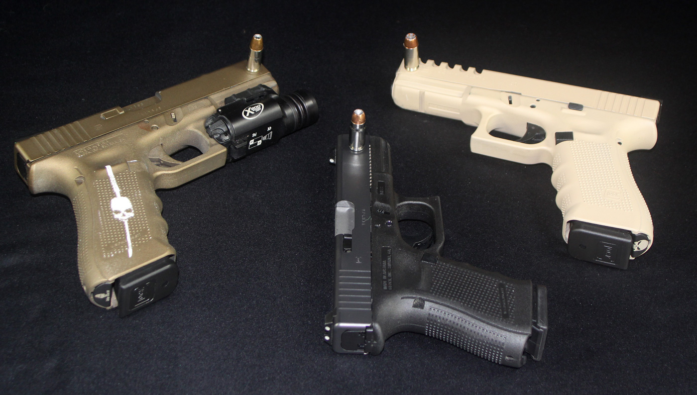 Sit Down  40 S&W,  45 ACP — The 9mm has Been Crowned King