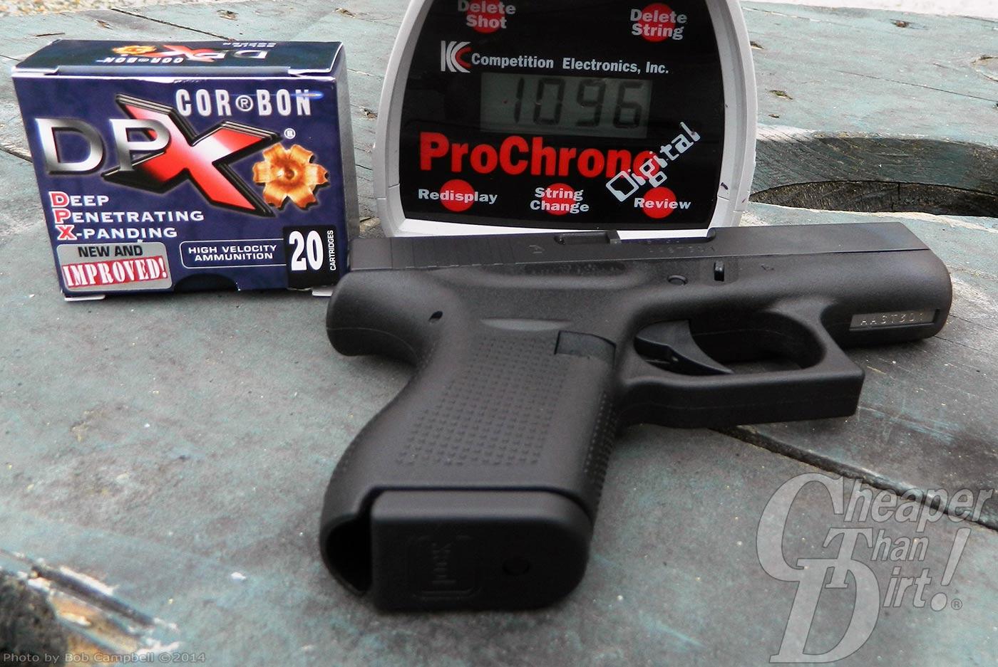Glock G42: A Remarkable Handgun - The Shooter's Log