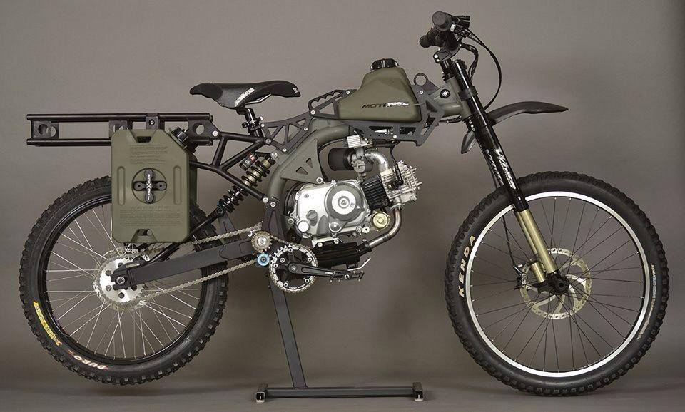Motoped's Motorized Survival Bike—From Mild to Wild - The Shooter's Log