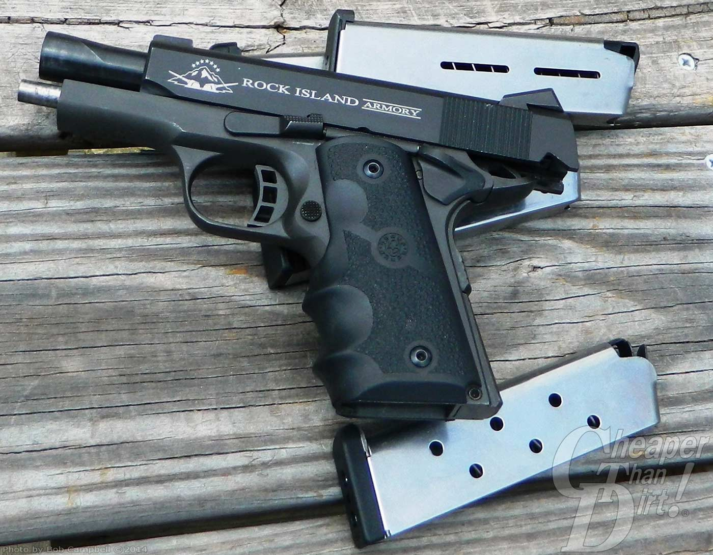Rock Island Tactical Compact - The Shooter's Log