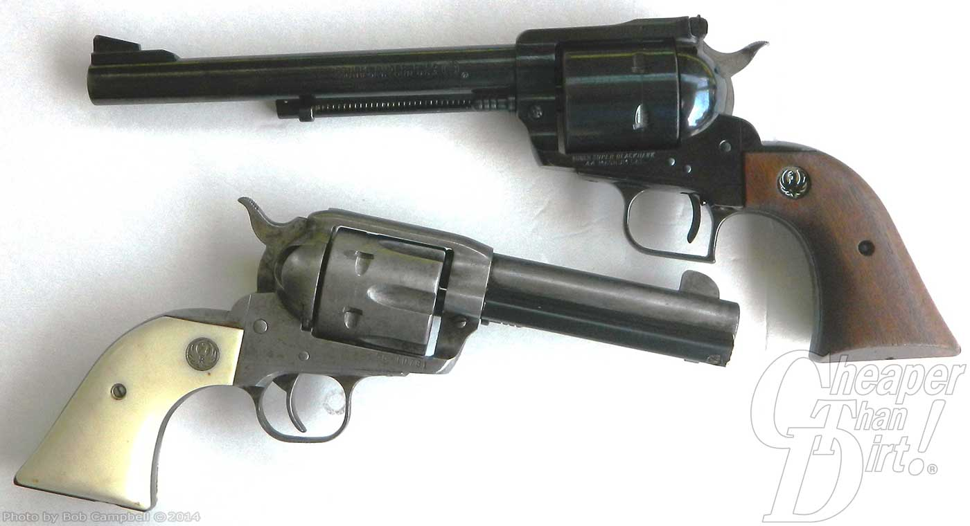 The Super Blackhawk  44 Magnum - The Shooter's Log