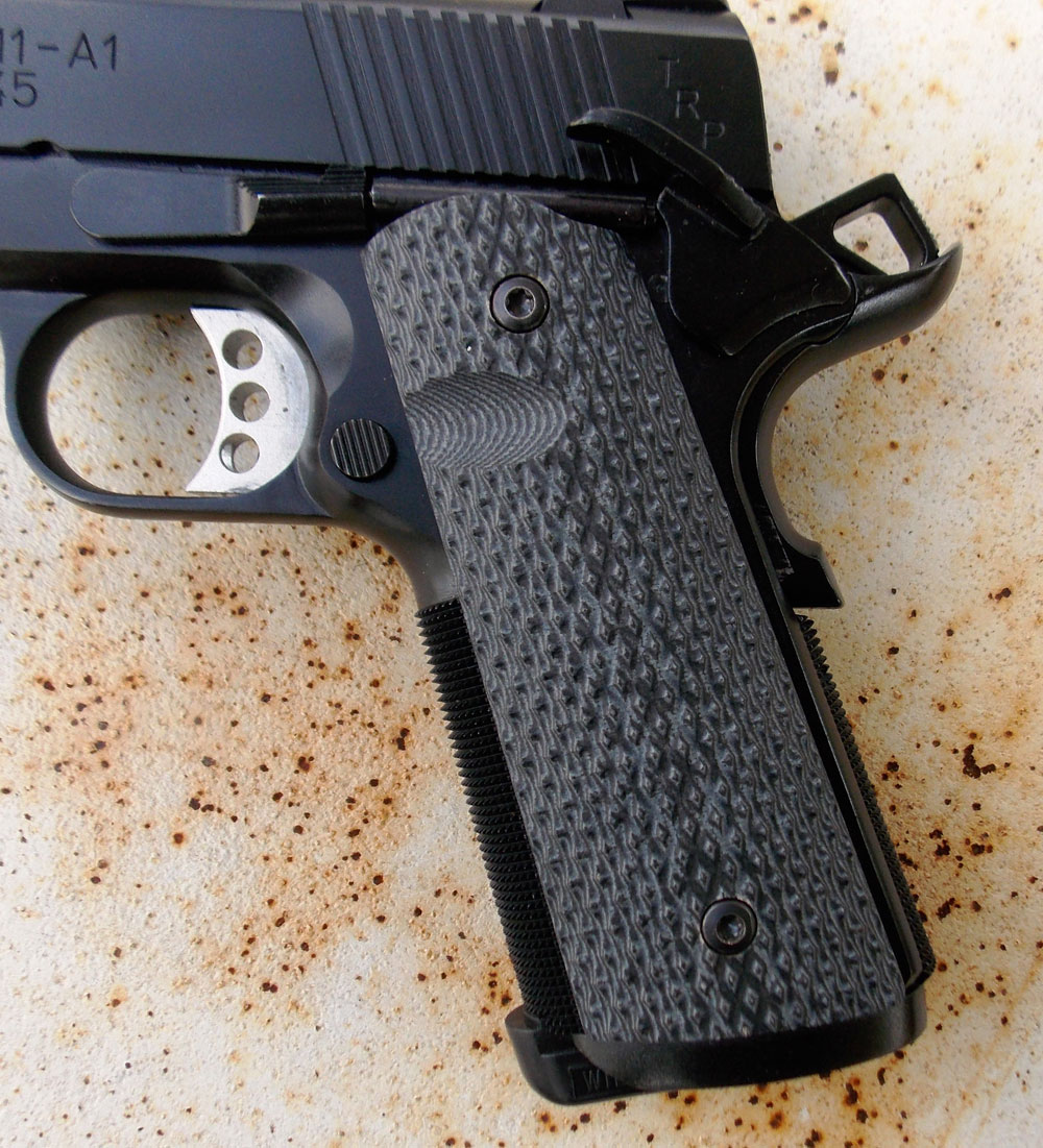 Springfield TRP pistol G10 grips