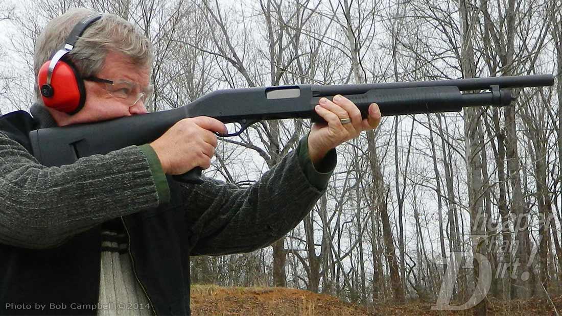 The Affordable Tactical 12-Gauge Stevens 320 - The Shooter's Log