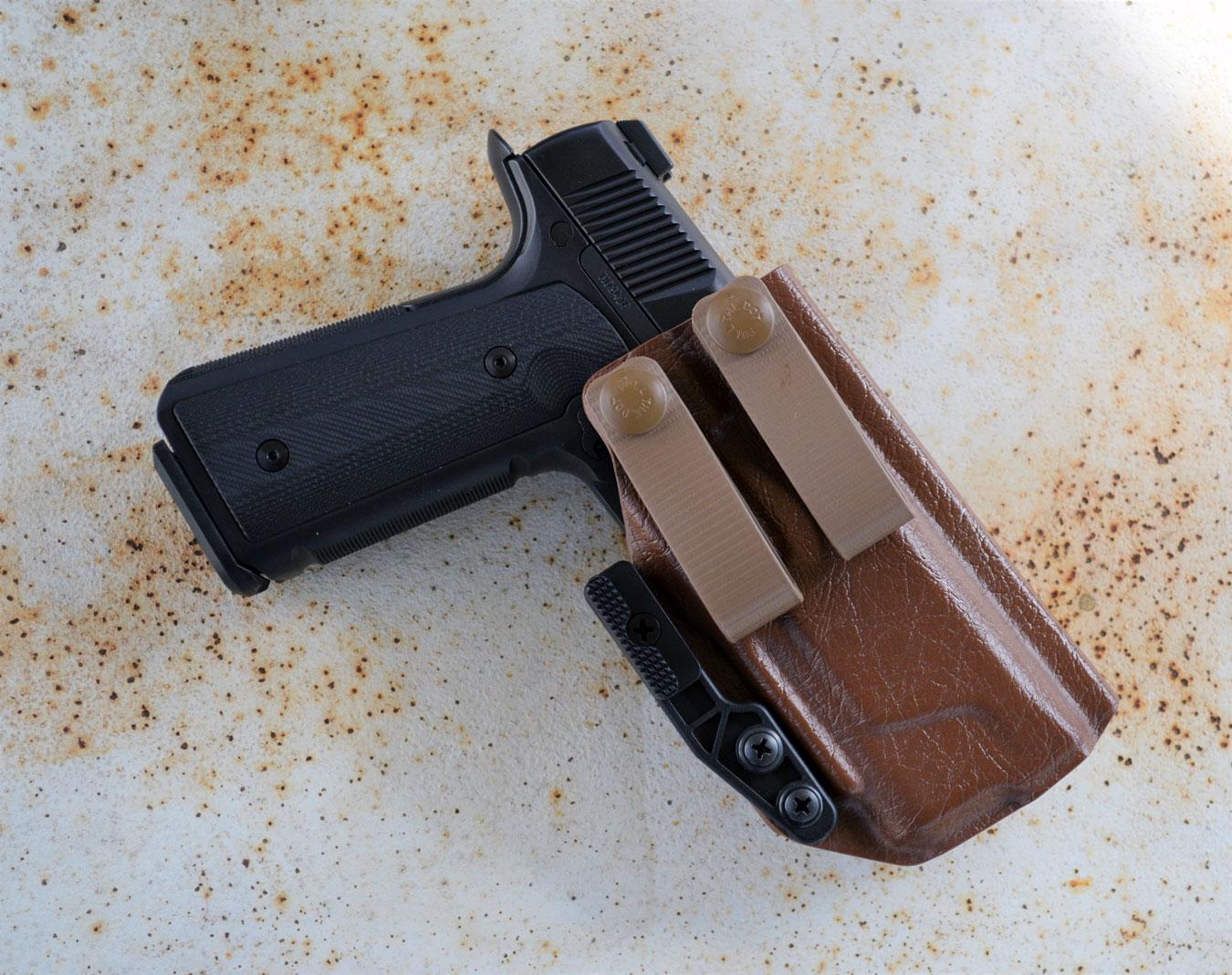 PHLSTER holster with Hudson H9 pistol