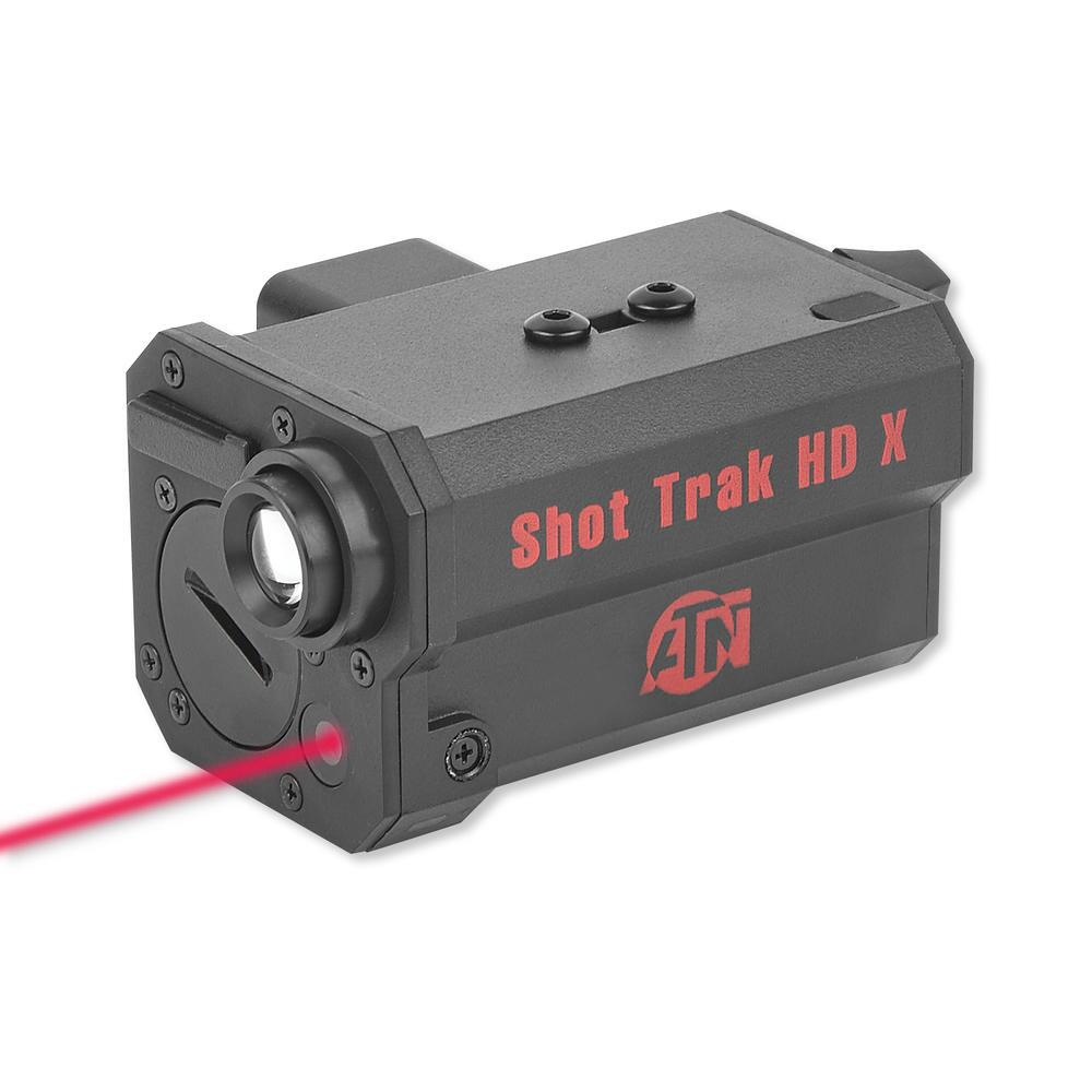 ATN Shot Trak HD Gun Camera With Red Laser