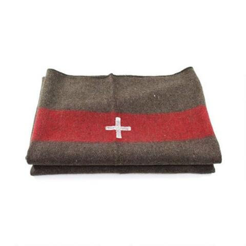Swiss Army wool blankets