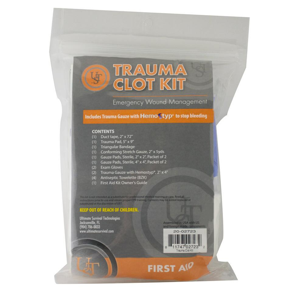 Ultimate Survival Technologies Trauma Clot Kit