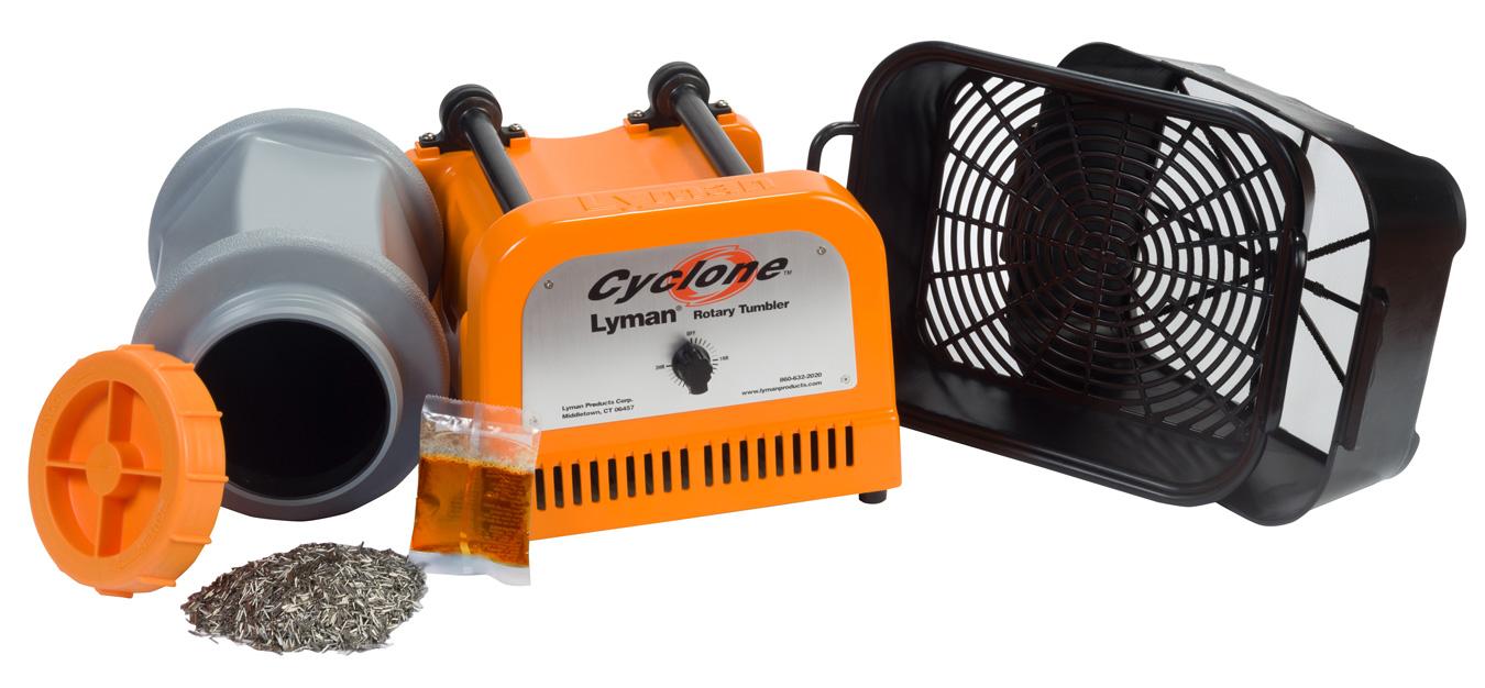 Lyman Cyclone rotary tumbler