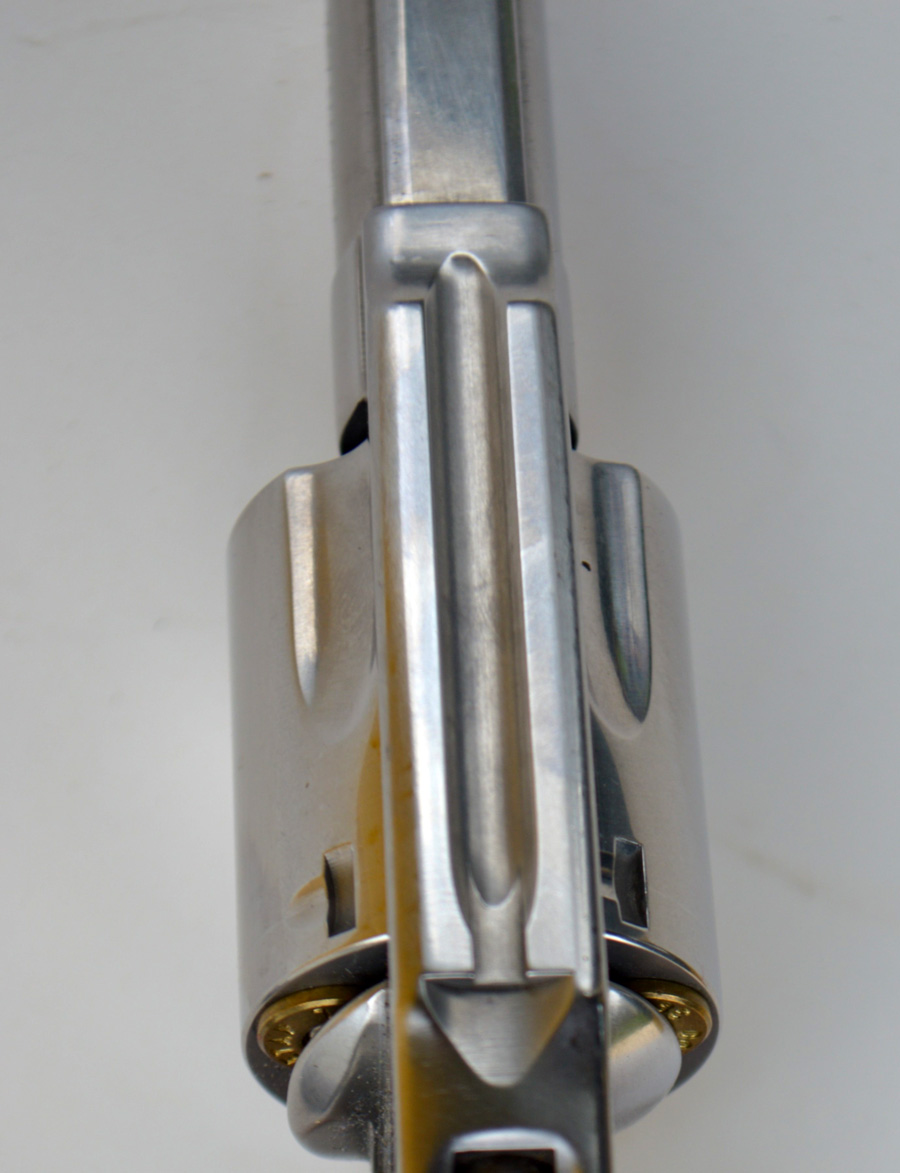 rear sight on the Smith and Wesson 649 .357 Magnum