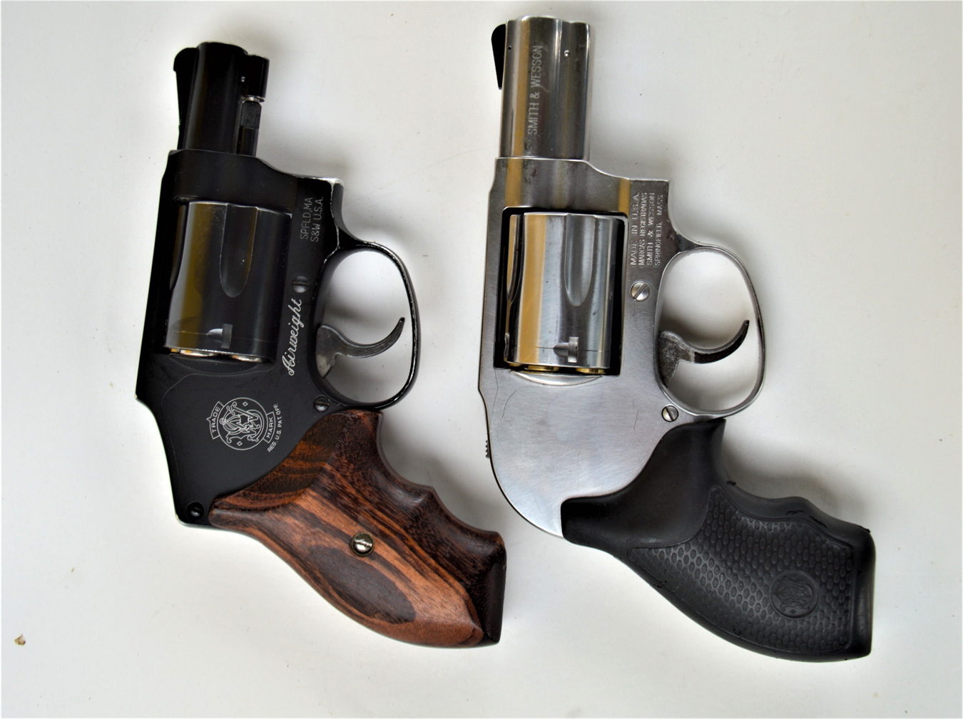 Smith and Wesson 649 .357 Magnum right Smith and Wesson 649 left