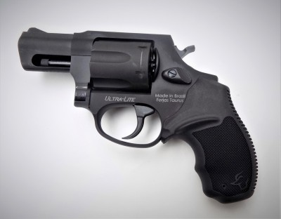 Taurus 857 revolver black left profile