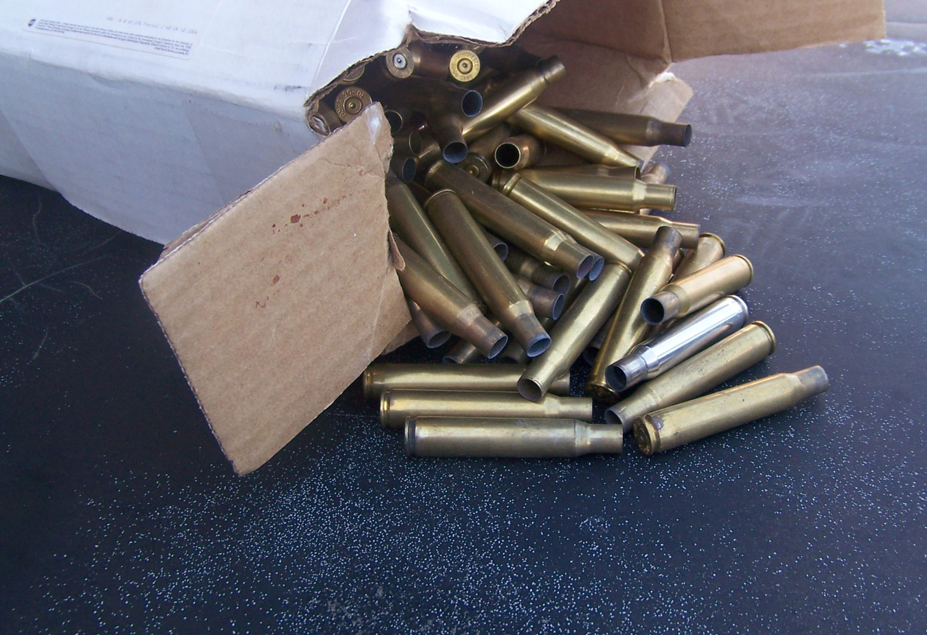 Brass cartridge cases for reloading