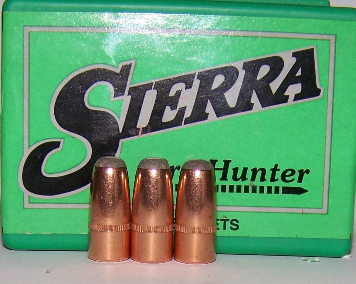 Sierra Hunter round-nose bullets