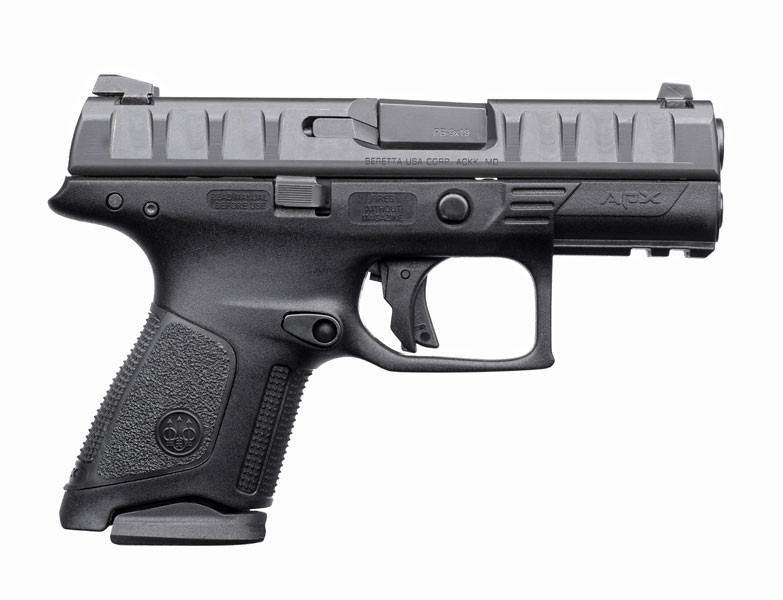Beretta APX pistol right profile