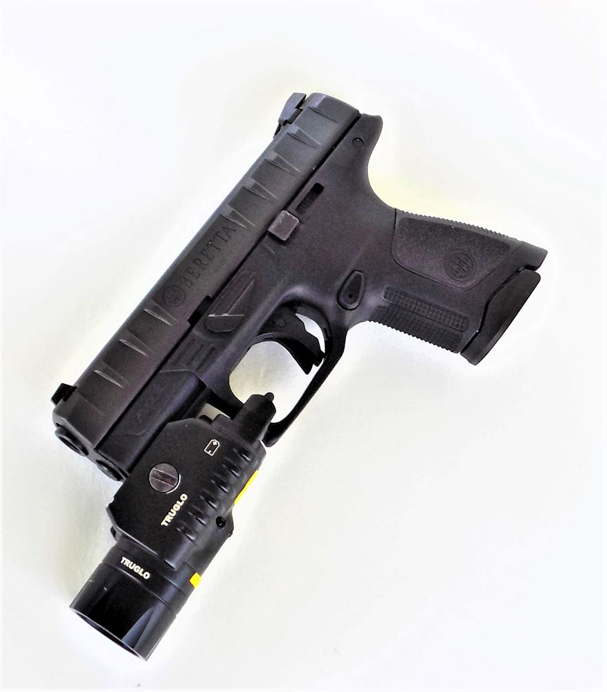 Beretta APX with TruGlo light-laser unit