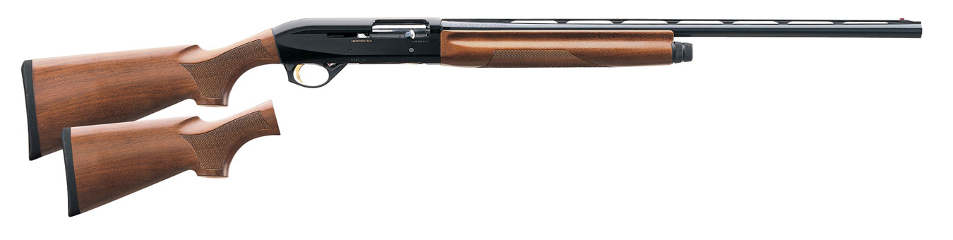 Montefeltro shotgun with wood stock right profile