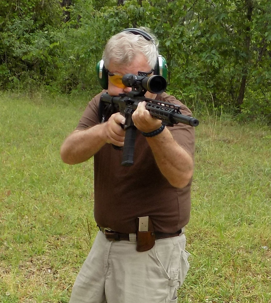 Bob Campbell shooting the Wilson Combat Super Sniper AR-15