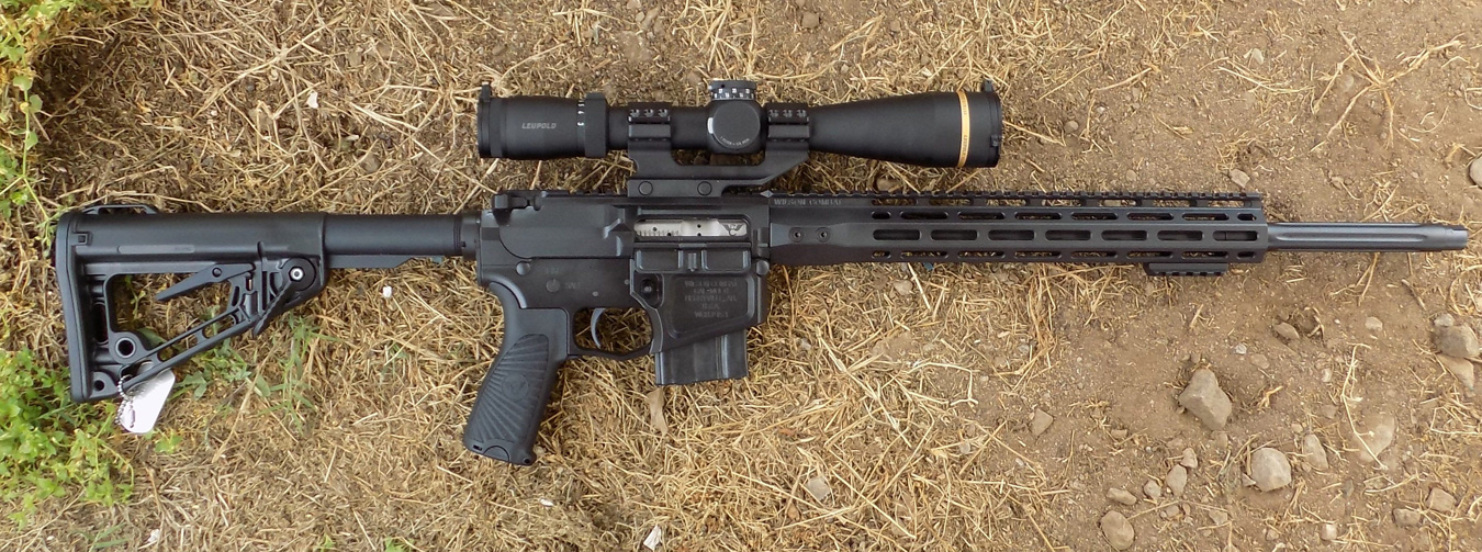 Wilson Combat Super Sniper AR-15 with scope