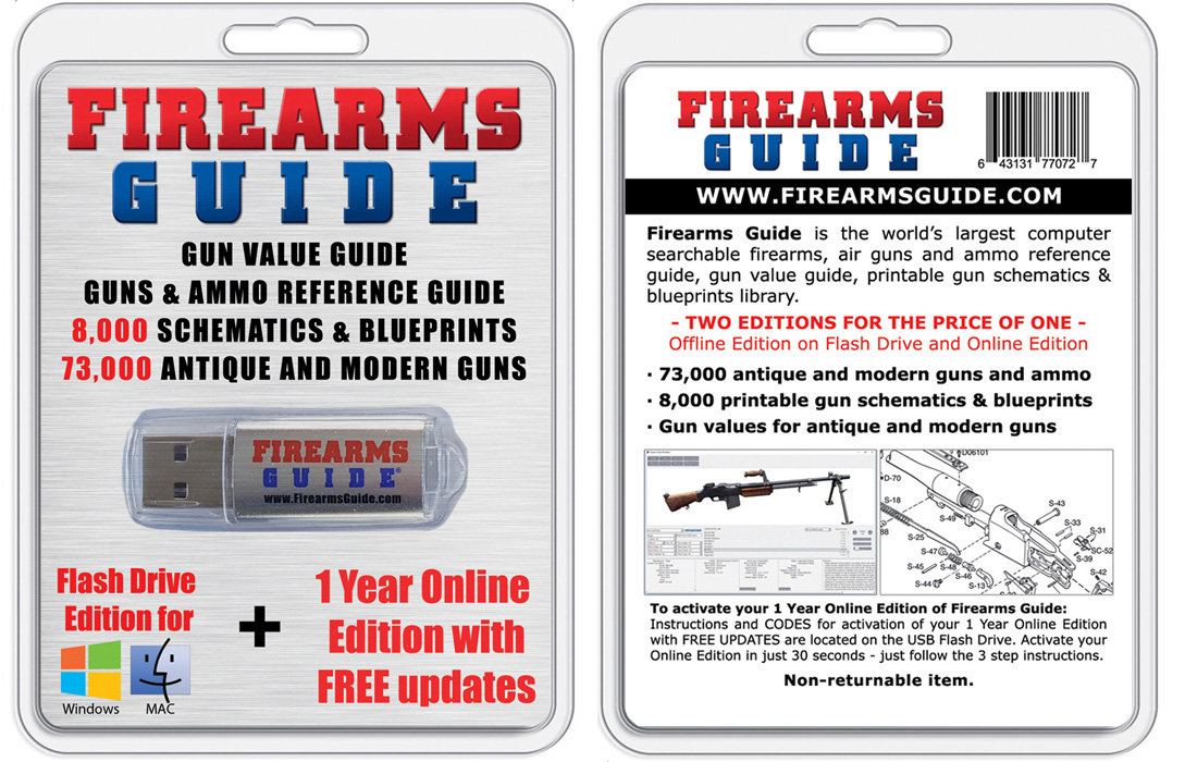Firearms Guide flash drive