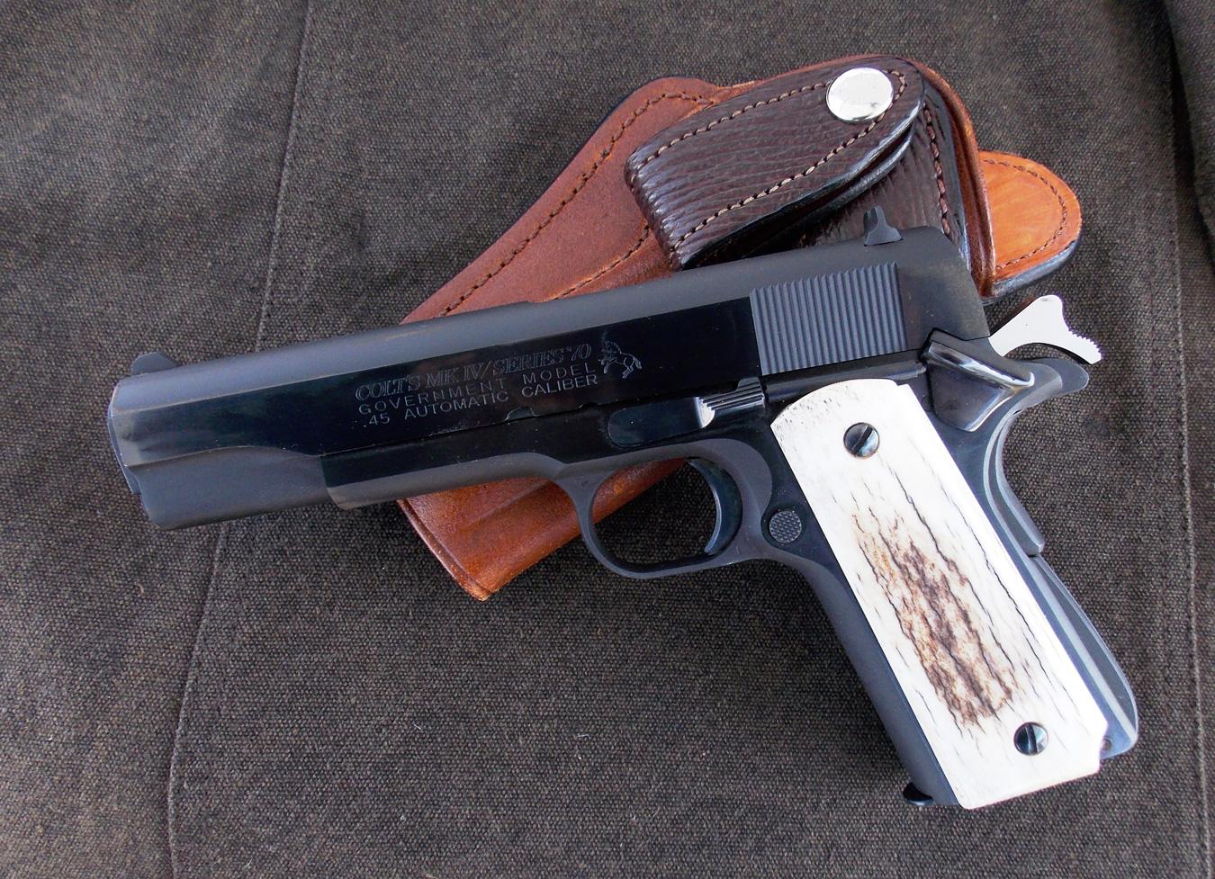 Colt Series 70 1911 .45 ACP pistol
