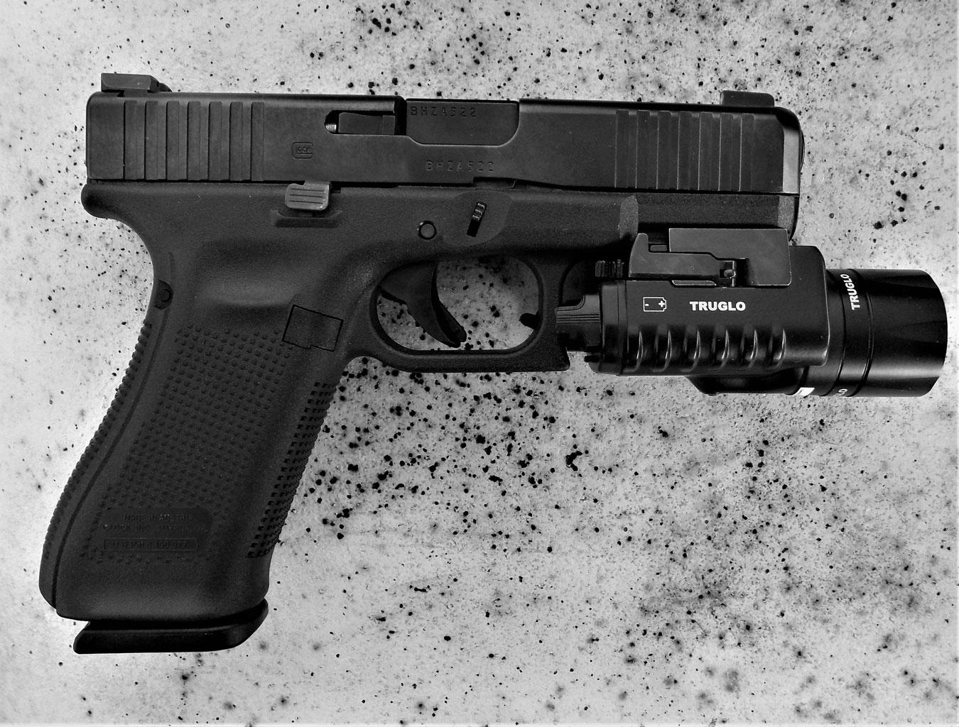 range report glock 45 9mm pistol