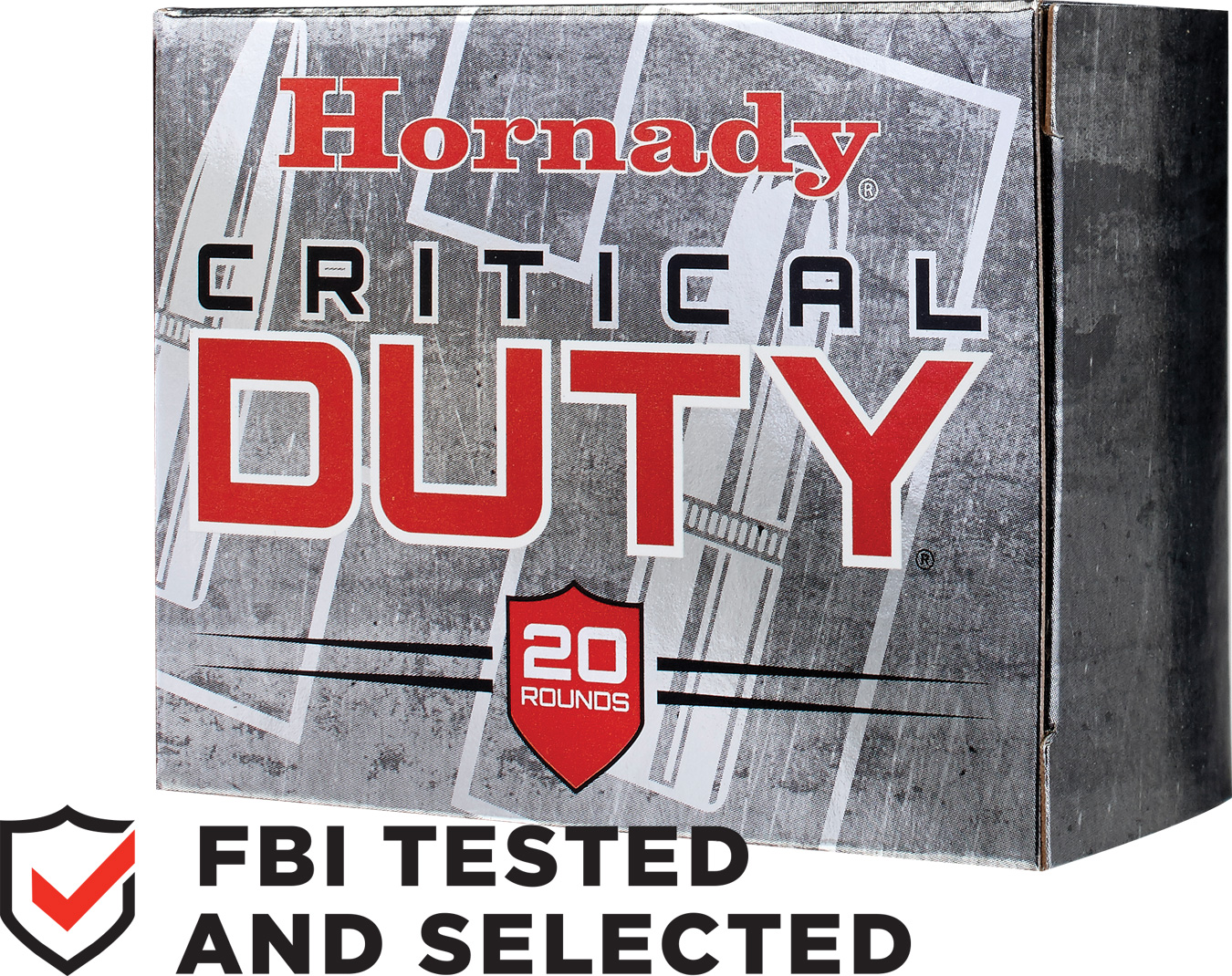 Hornady Critical Duty ammunition box