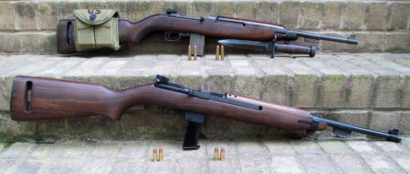 Chiappa M1-9 rifle top, Springfield M1 Carbine bottom