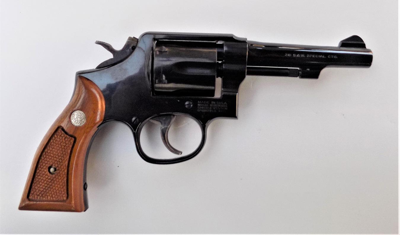 Model Ten revolver