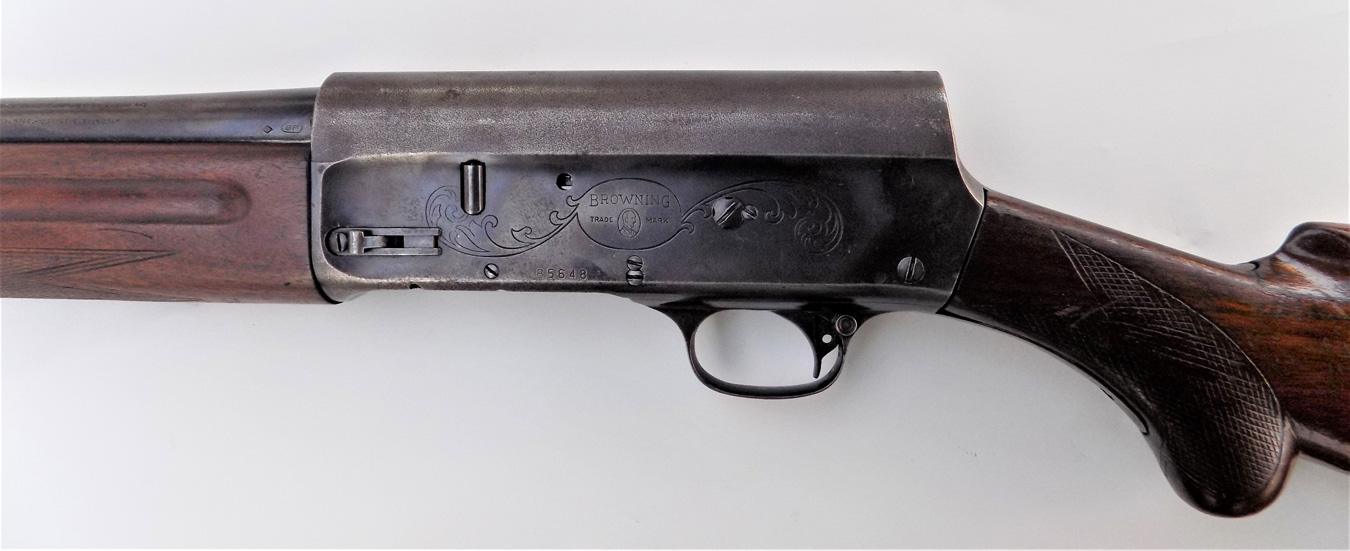 Browning shotgun left profile
