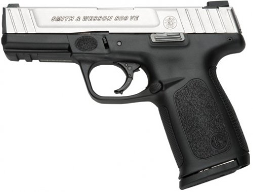 Smith and Wesson SD9VE pistol right profile