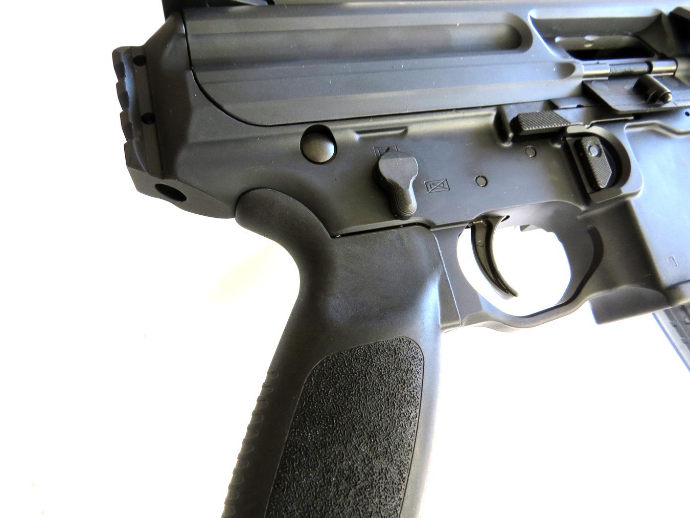SIG MPX-PSB pistol controls