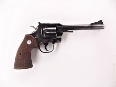 Colt .357 magnum revolver right profile