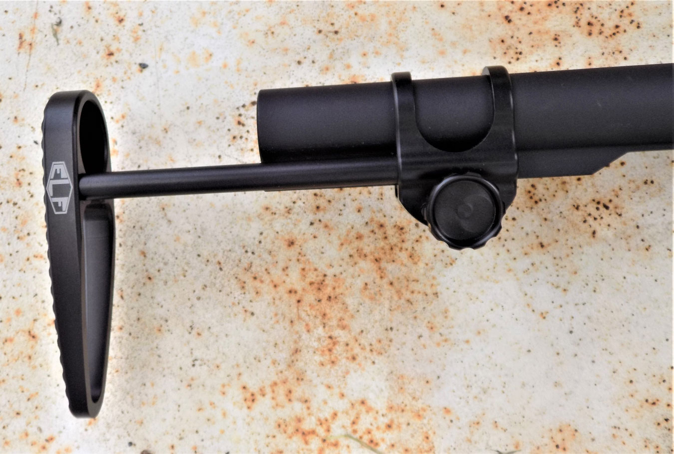 Elftmann rifle stock extended