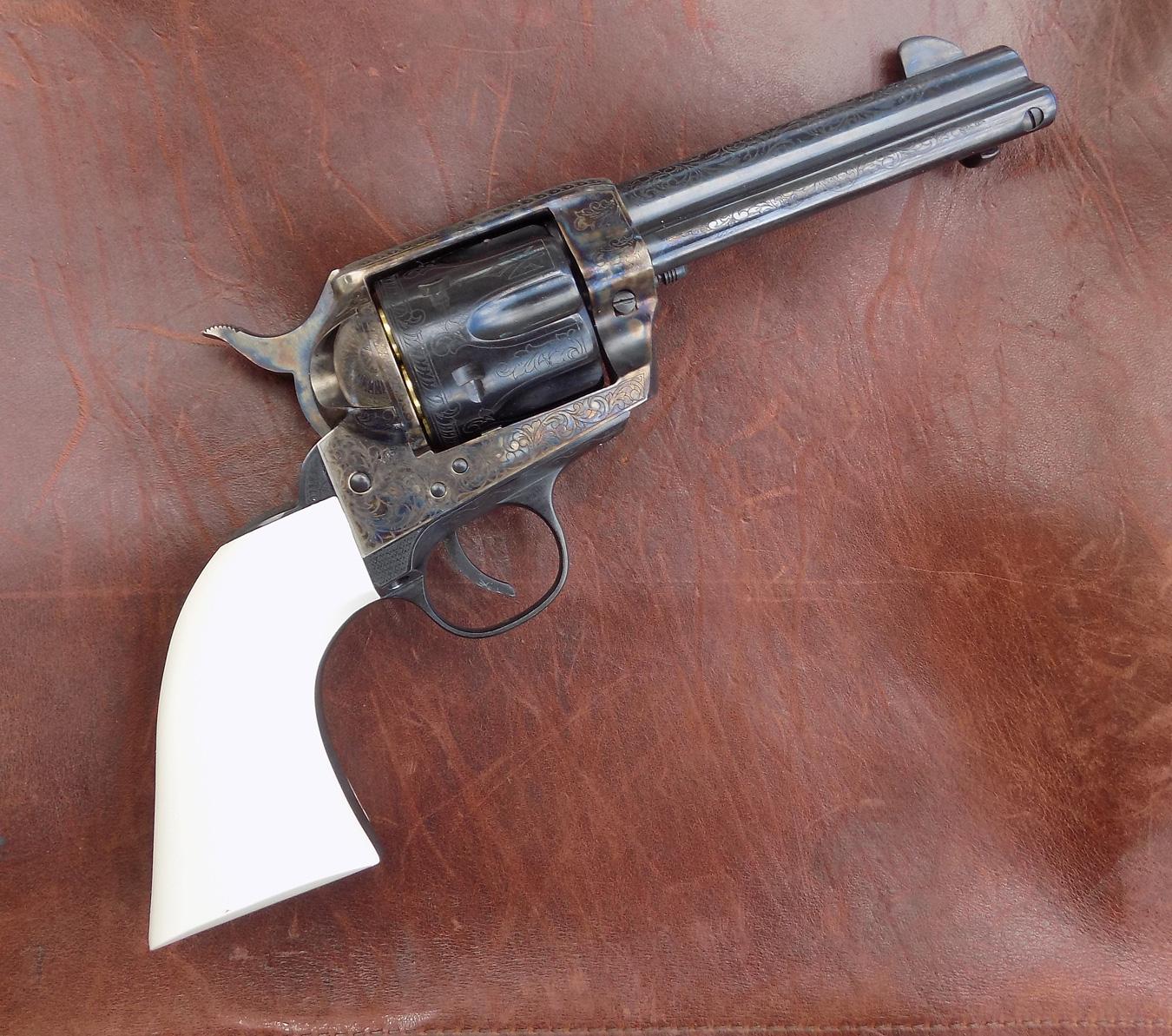 Traditions Bill Tilghman revolver