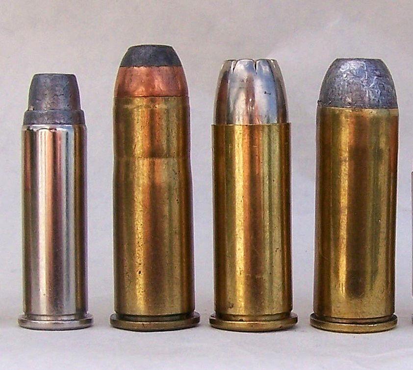 four cowboy action cartridges
