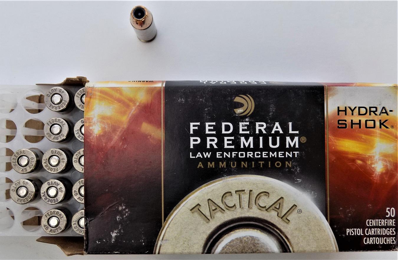 box of Federal Cartridge Law Enforcement cartridges