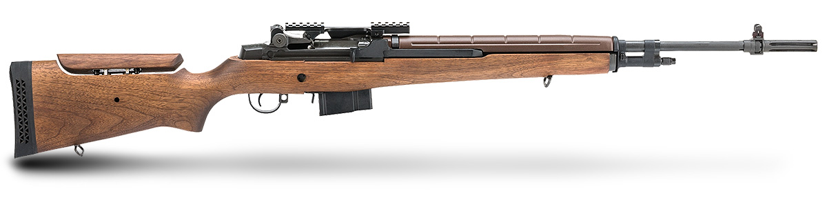 Springfield Armory M1A chambered for 5.6 Creedmoor right profile