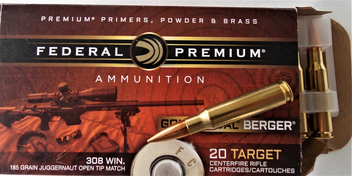 Federal Juggernaut .308 ammunition box