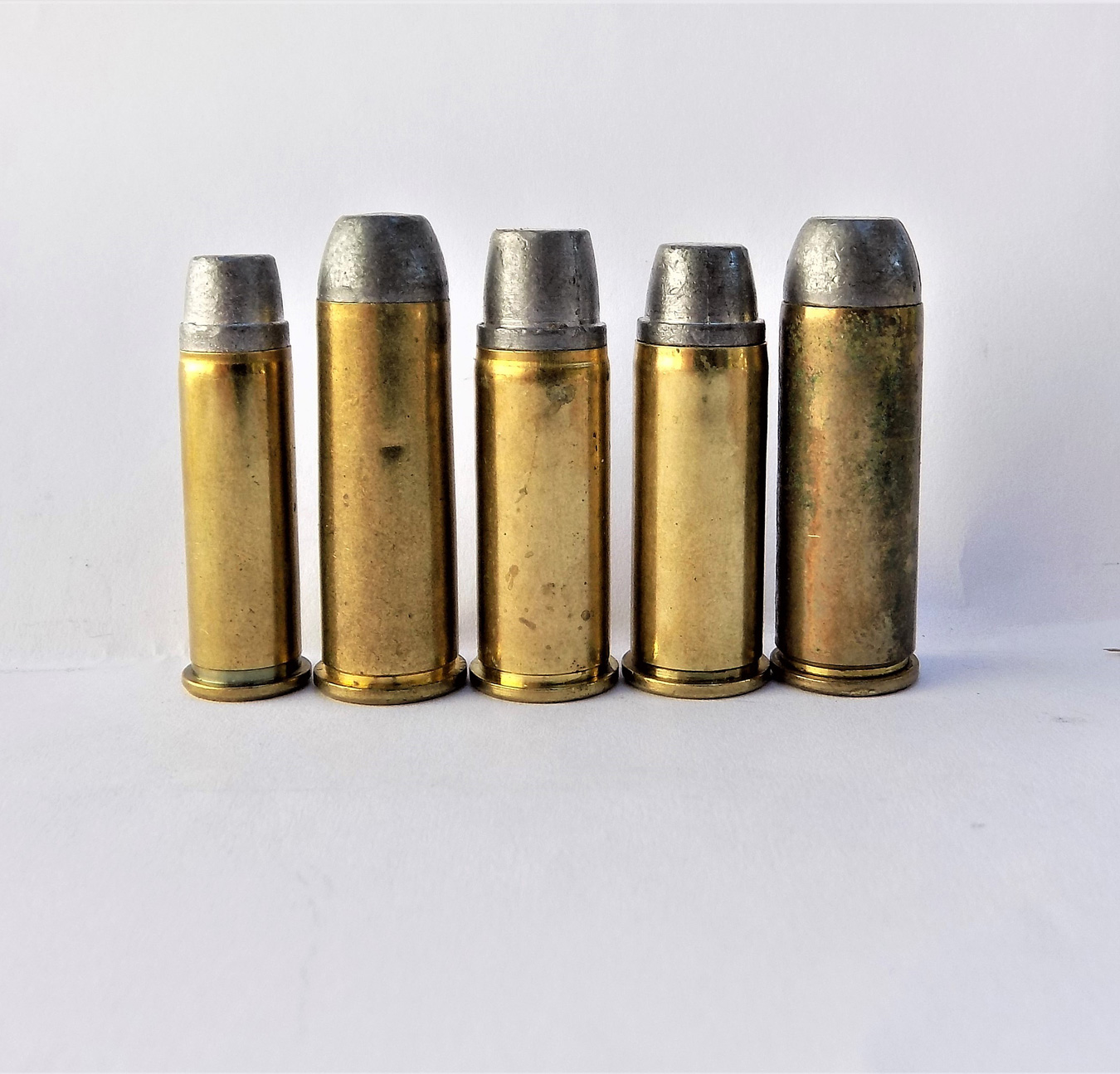 Five cowboy cartridges