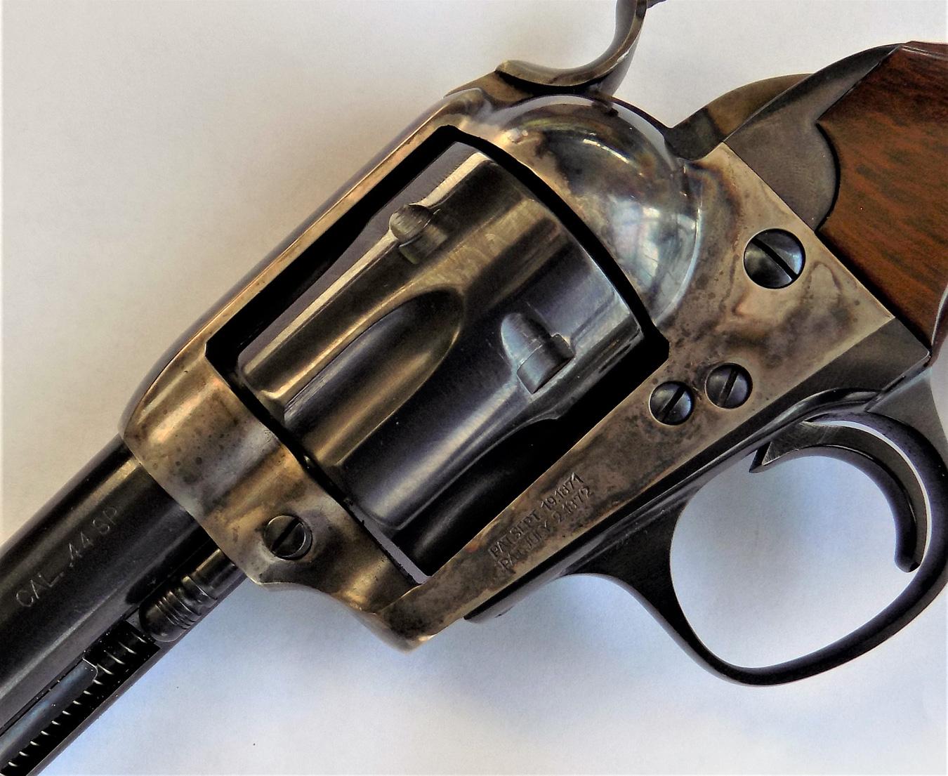 Uberti Bisley revolver left profile