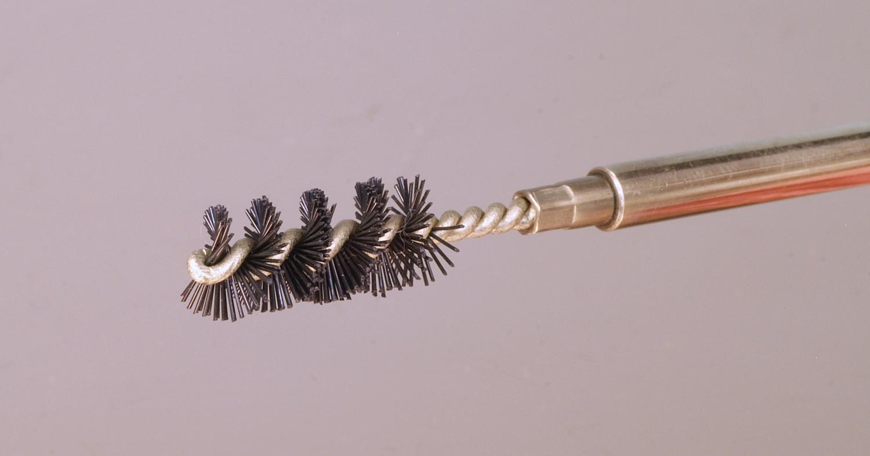 nylon chamber brush for .357 caliber
