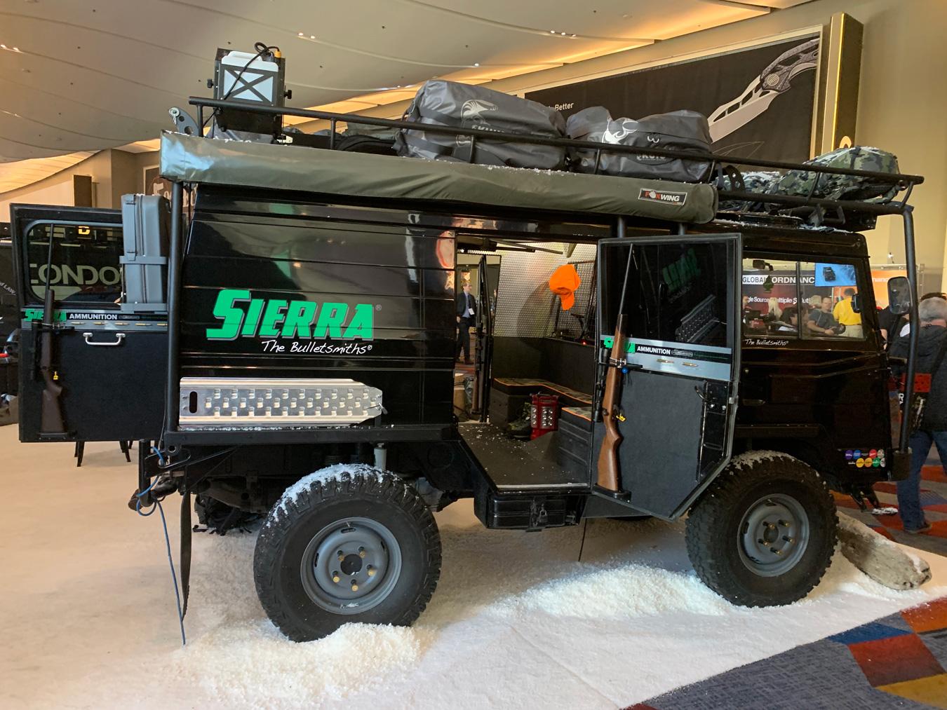 Sierra Bullets Unimog at SHOT Show 2019