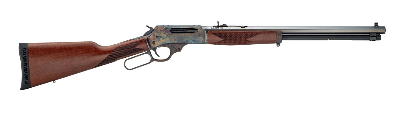 Henry lever action rifle .30-30 20-inch barrel right profile