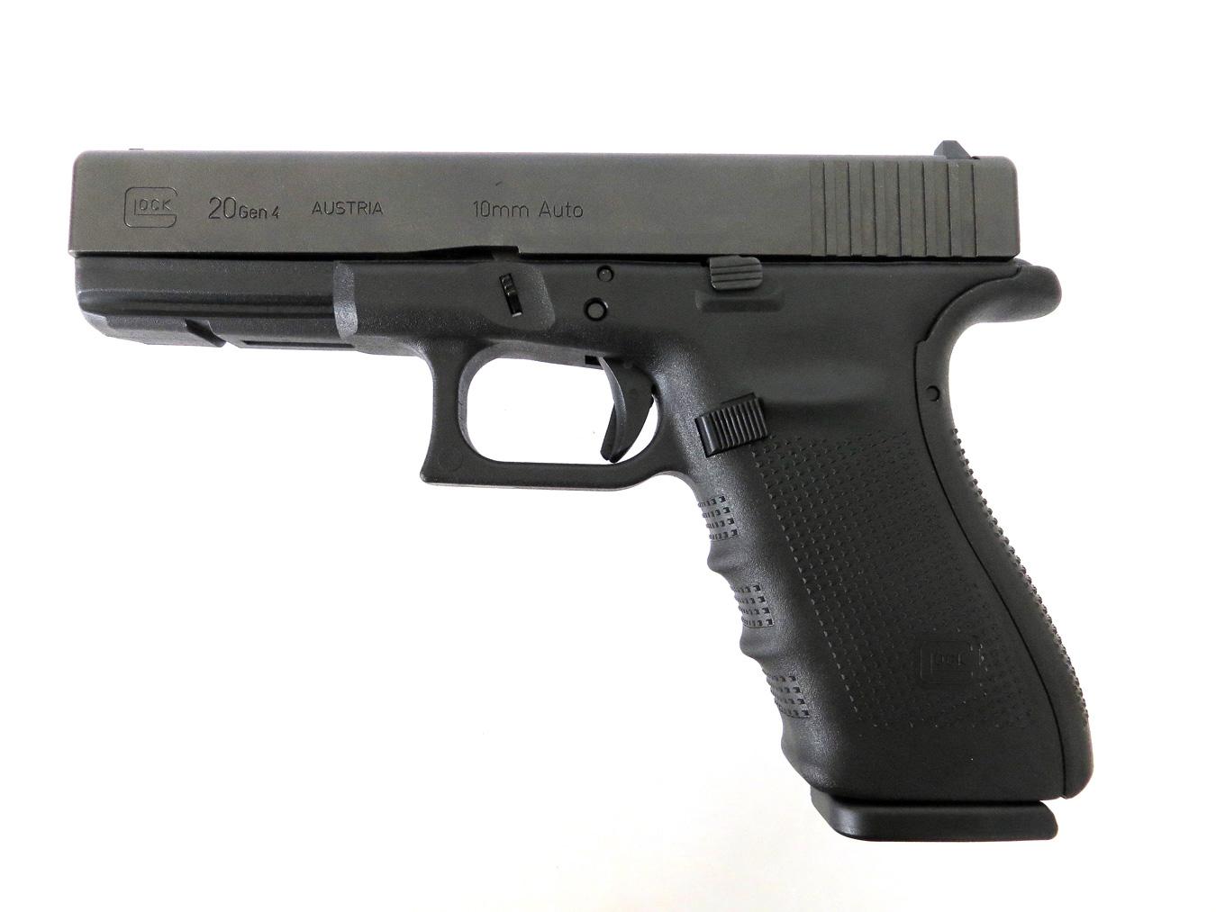Glock 20 10mm handgun left profile